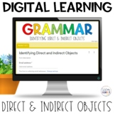 Direct Indirect Objects Self-Grading Quiz | Google Apps