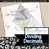 Dividing Decimals with Estimation Lesson for Interactive N