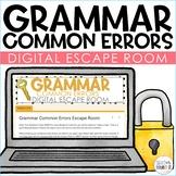 (1/2 OFF 24 HRS) Grammar Common Errors Digital Escape Room