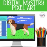 Independent or Dependent Clauses Digital Mystery Pixel Picture