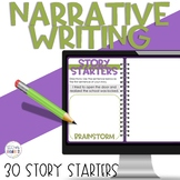 Narrative Writing Creative Writing Prompts Story Starters