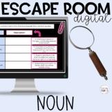 Nouns Part of Speech Digital Escape Room Google Apps