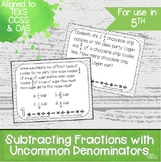 *1/2 OFF 24 HRS* Subtracting Fractions with Unlike Denomin