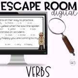 Verbs Part of Speech Digital Escape Room Google Apps