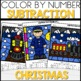 Color by Number POLAR EXPRESS Worksheets Sub within 20