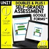 Math Self-Grading Assessments Doubles Module 1 Lesson 21