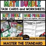 Digital Printable Task Cards AND Worksheets 1.OA.A.1 MASTE