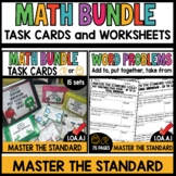 Digital and Printable Task Cards & Print and Go Worksheets
