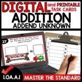 Put together Addend Unknown DIGITAL PRINTABLE CARDS