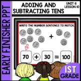 ADDING AND SUBTRACTING  | EARLY FINISHER | UNIT 6 LESSON 10