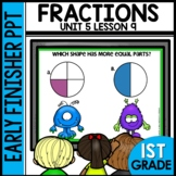 FRACTIONS | EARLY FINISHER PPT | UNIT 5 LESSON 9