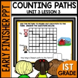 Counting PATHS | EARLY FINISHER PPT | Module 3 Lesson 3