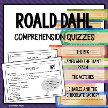 Roald Dahl Reading Bundle Comprehension Questions