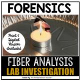 FIBERS IN FORENSICS: LAB INVESTIGATION