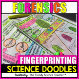 Fingerprint Science Doodles [Forensics Worksheet]