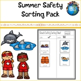 Summer Safety Sorting Pack