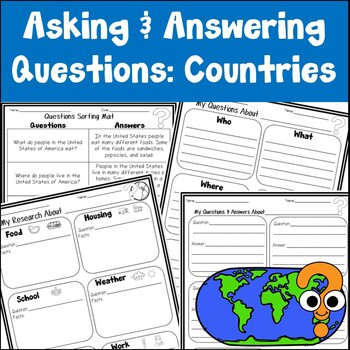 Countries Asking and Answering Questions