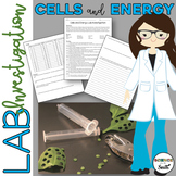 Cells and Energy Lab Investigation of Photosynthesis and Cellular Respiration