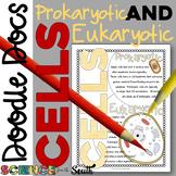 Prokaryotic and Eukaryotic Cells Doodle Docs