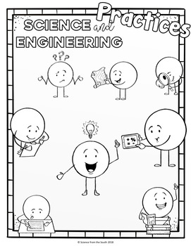 Science and Engineering Practices Doodle Docs for Engaging Note-Taking