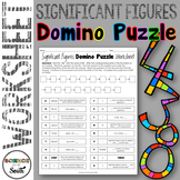 Significant Figures DOMINO Puzzle for Review or Assessment