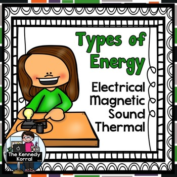 Energy - Electrical, Magnetic, Sound, & Thermal