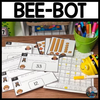 Bee-Bot Activity Mat Math Tens and Ones