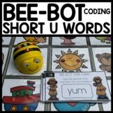 Bee-Bot Activity Mat SHORT U PRACTICE
