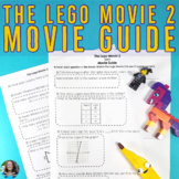 The Lego Movie 2 8th Grade Math Movie Guide Distance Learning