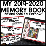 END OF YEAR 2020 Digital & Print Memory Book Distance Lear