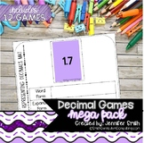 Decimal Games Mega Pack - Set of 12 Decimal Games