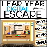 LEAP YEAR 2020 MATH Digital Escape Room