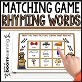 RHYMING WORDS MATCHING GAME BOOM DECK | Distance Learning