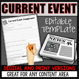 EDITABLE CURRENT EVENT TEMPLATE