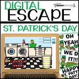 St. Patrick's Day MATH Digital Escape Room using Boom Cards