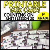 Counting On MATH TASK CARDS Module 1 Lesson 20
