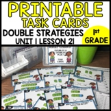 Doubles and Doubles Plus 1 TASK CARDS Module 1 Lesson 21