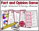 Fact and Opinion Game - Candy Themed