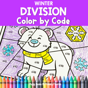 Division Color by Code | {2's - 9's} {Winter}