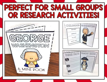 Abraham Lincoln and George Washington Presidents Day Activities
