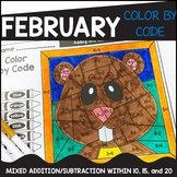 February Color by Code