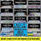 Character Education Posters- Color-Spirations MEGA BUNDLE