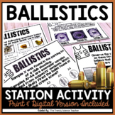 BALLISTICS REVIEW STATIONS-FORENSICS ACTIVITY
