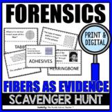 FORENSICS ACTIVITY: FIBERS SCAVENGER HUNT