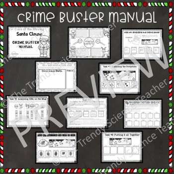 Christmas Science Activity: The Case of the Missing Santa Claus