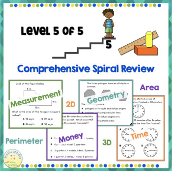 Geometry Measurement Spiral Review Level 5
