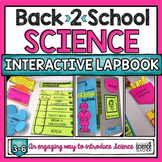 Back to School Interactive SCIENCE Lapbook