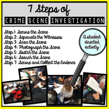 Steps of Crime Scene Investigation [FORENSICS]