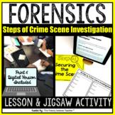 Steps of Crime Scene Investigation- Lesson & Activity [Pri
