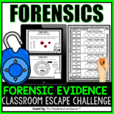 Forensic Evidence: Classroom Escape Activity